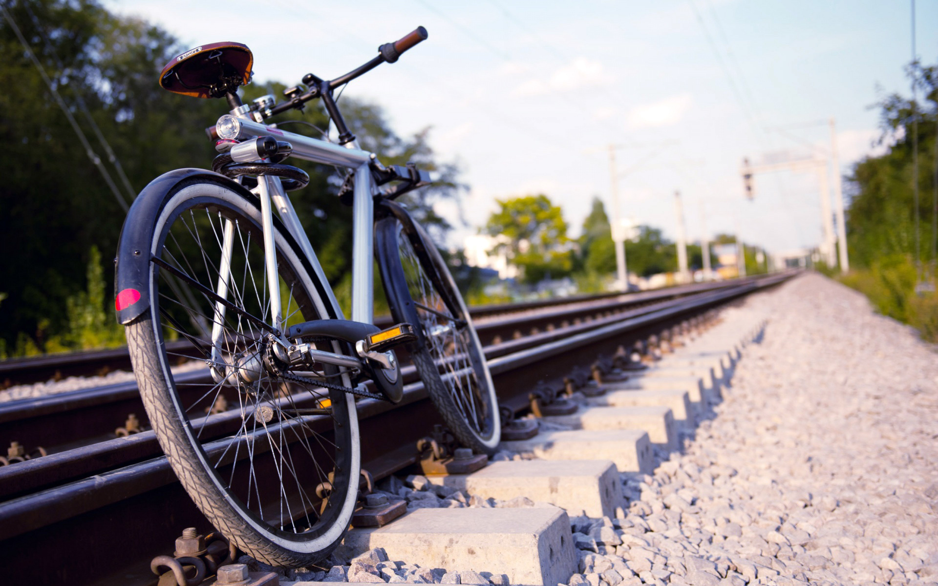 Changing in a railways rules for carrying bicycles.