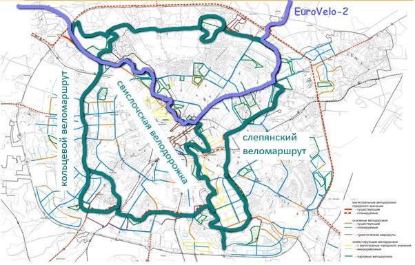 Зелёное велокольцо Минска – 66 км